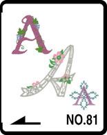 dekor betűk